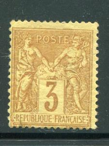 France #89 Mint  F-VF  - Lakeshore Philatelics