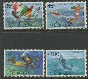 STAMP STATION PERTH Grenadines St Vincent #484-487  Set MNH CV$2.00