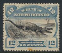 North Borneo SG 75c Used SC#65  perf compound  see details & scans