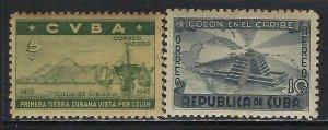 CUBA C36-C37 MOG TONING COLUMBUS Z300