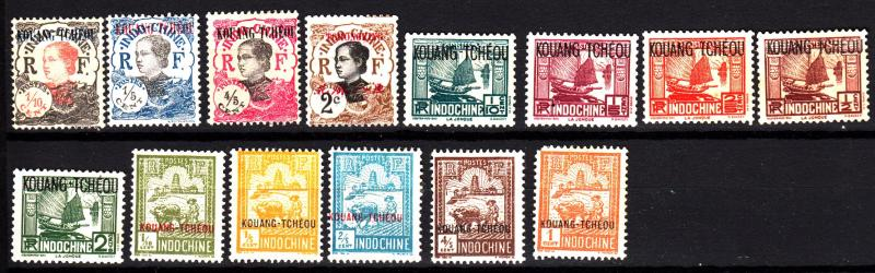 French offices in Kwangchowan 14 different mint