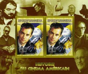 Madagascar 1999 American Cinema Tom Hanks Souvenir Sheet Imperforated mnh.vf
