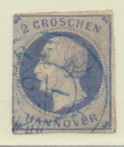 Hanover (German State) Stamp Scott #20, Used - Free U.S. Shipping, Free World...