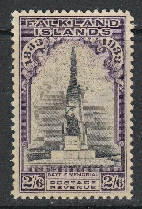Falkland Islands, Scott 73 (SG 135), MLH