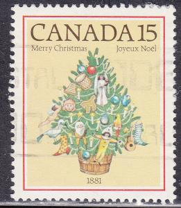 Canada 901 USED 1981 Christmas 15¢