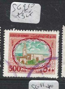 KUWAIT  (PP0206B)  500F    SG 910   VFU
