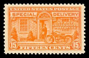 momen: US Stamps #E13 Mint OG NH XF Jumbo