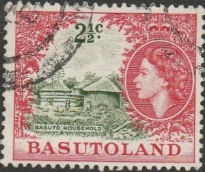 Basutoland, #75 Used From 1961-63