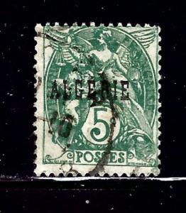 Algeria 6 Used 1925 issue