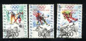Liechtenstein 973-75  used 1991 PD