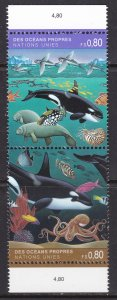 UN - Geneva, Fauna, Fishes, Sea Life / MNH / 1992