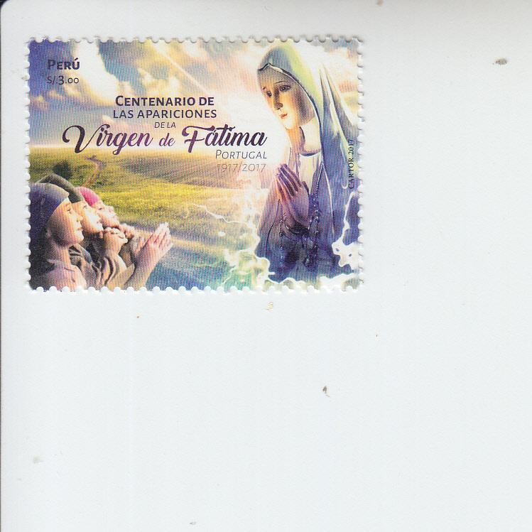 2017 Peru Fatima Apparitions  (Scott 1935) mnh