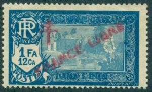 French India #127  Mint  Scott $6.50   Thin