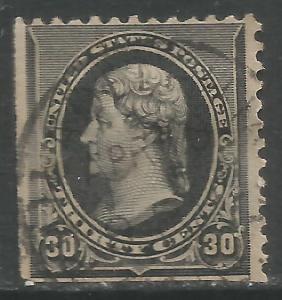 UNITED STATES 228 VFU JEFFERSON 1890 Z6115