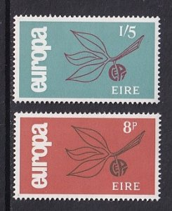 Ireland   #204-205   MNH  1965  Europa   leaves and fruit