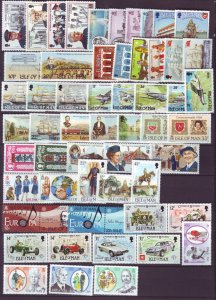 J21981 Jlstamps various 1983-5 isle of man sets mnh #240//290 $40.00+ scv 2016
