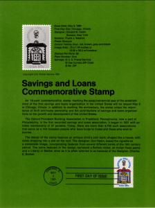US SP554 Savings and Loan 1911 Souvenir Page FDC
