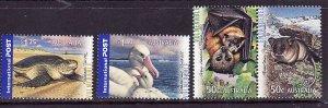 Australia-Sc#2705-8-unused NH set-Birds-Endangered Animals-Turtles-2007-