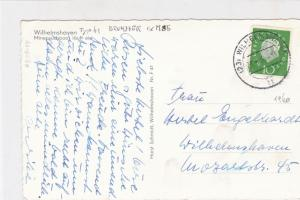 Germany 1960 Navy Ships Minesweeper Type 41 Brummer exM85 Stamps Card R 18501