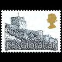 GIBRALTAR 2000 - Scott# 850 Moorish Castle Set of 1 NH