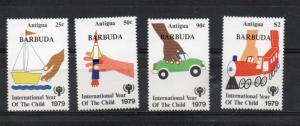 Barbuda 394-397 MNH