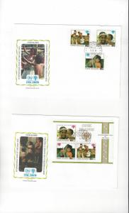 Cook Islands FDC 1979 International Year of the Child Official Cachet