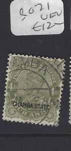 INDIA CHAMBA  (PP2410B)  KGV     4A   SG 71  VFU