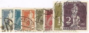 Germany #9N35-41  Used VF