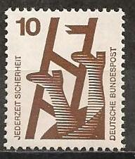 Germany #1075 Mint Never Hinged VF  (ST508)