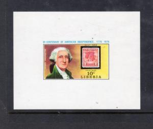 LIBERIA 704 Proof Sheet George Washington