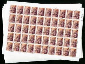 Macau Stamp Sheets SC812-15 Hoard of 250 Sets NH Catalogue value $1,000