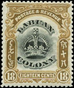 Labuan Scott #106 Mint