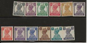 India 168-179 Set MH