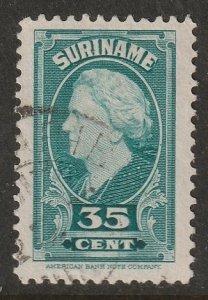 Suriname 1945 Sc 199 used