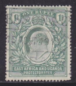 East Africa & Uganda 25 VF-used scv $ 75 ! see pic !