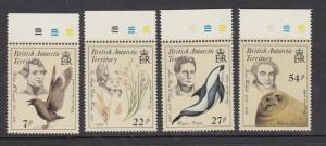 British Antarctic Territory 125-8 Audubon mnh