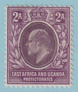 EAST AFRICA AND UGANDA 3 MINT HINGED OG * NO FAULTS EXTRA FINE!