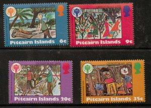 PITCAIRN ISLANDS SG200/3 1979 CHRISTMAS MNH