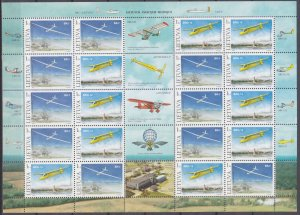 2003 Lithuania 833-834KL Airplanes 20,00 €