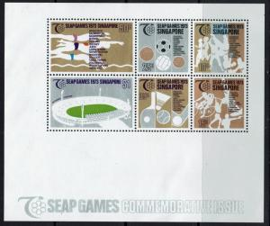 Singapore SC# 188a, Mint Never Hinged, light bending - Lot 050217