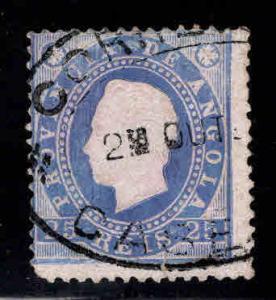 Angola Scott 19 Used stamp