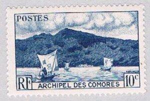 Comoro Islands 30 MNH Anjouan Bay 1950 (BP38511)