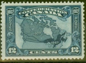 Canada 1927 12c Blue SG270 Fine & Fresh Lightly Mtd Mint