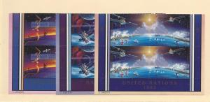 United Nations, Mission Planet Earth MI Blks(4), MNH