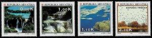 1994 Croatia Scott Catalog Number 196-202 Unused No Gum