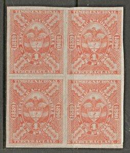 Columbia Revenue Fiscal Stamp Cinderella- 5-12 MNH Gum