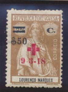 Lourenco Marques Stamp Scott #B10, Mint Hinged - Free U.S. Shipping, Free Wor...