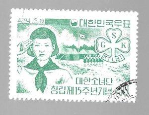 South Korea 1961 - Scott #325 *