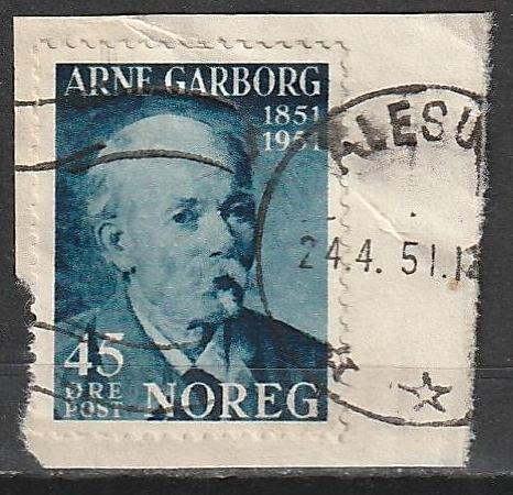 #313 Norway Used on paper