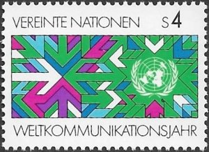 United Nations UN Austria Vienna 1983 Sc # 30 Mint NH. Ships Free With Another